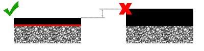 Снижения толщины асфальтового покрытия